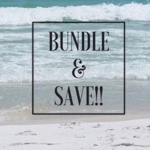 Bundle items for great discount!